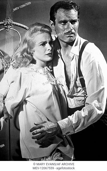 Janet Leigh & Charlton Heston Characters: Susan 'Susie' Vargas & Ramon Miguel 'Mike' Vargas Film: Touch Of Evil (USA 1958) Director: Orson Wells 23 April 1958