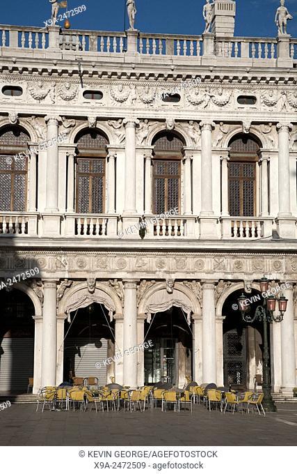 St Marks Square Facade in Venice; Italy