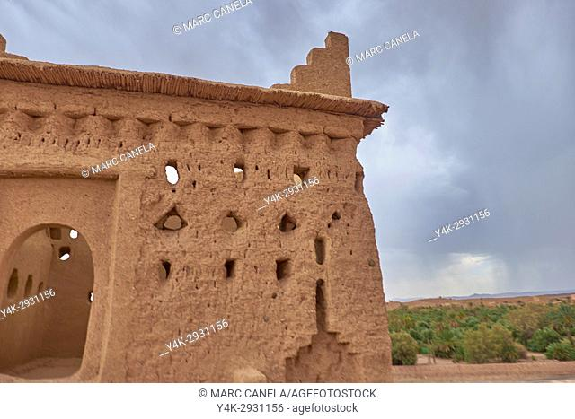 Africa, Morocco Kashba Amridil near Ouarzazate
