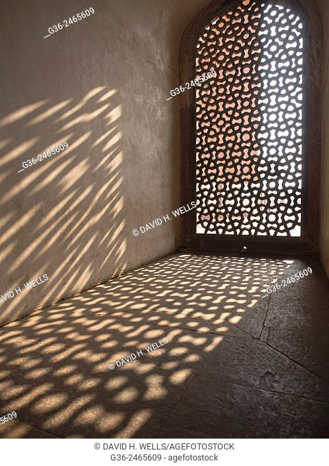 Interior of Humayun's Tomb, New Delhi, India