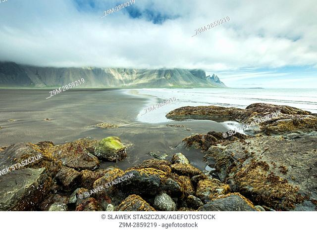 Morning at Stoksness beach, south east Iceland