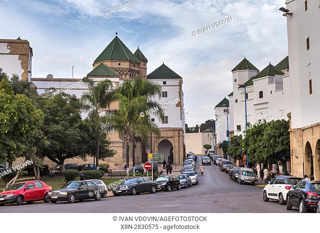 Houbous neighbourhood, New Medina (1918-1955), Casablanca, Morocco