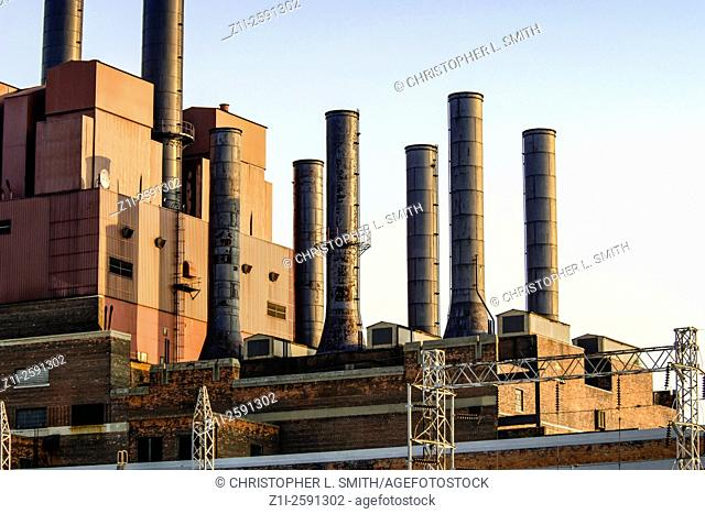 Coal-fired Power Station in North America