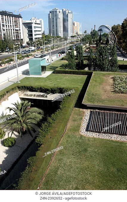 Turia river, Valencia, Spain
