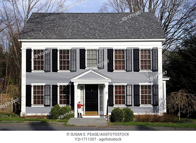 A coloinial style home in Great Barrington, Massachusetts