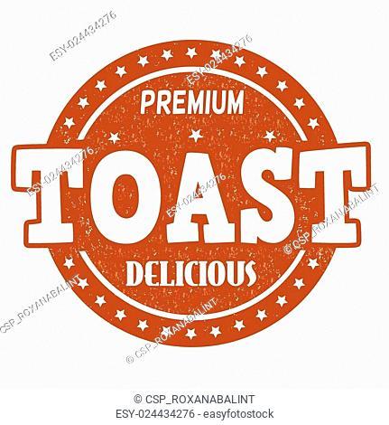 Toast stamp