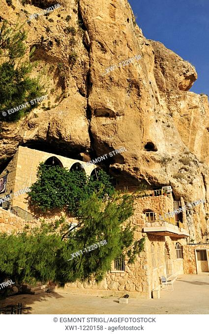 Monastery of St  Thecla, Maalula, Syria, Middle East, West Asia