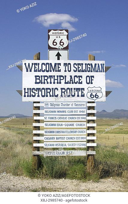 Route 66, Arizona, United States of America