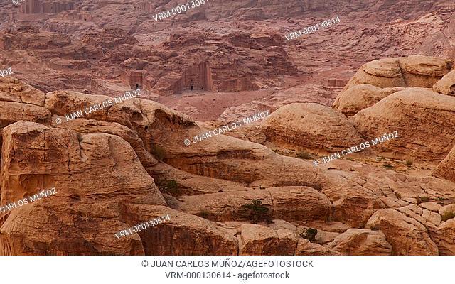 Landscape in Petra