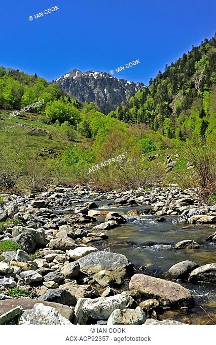 Bious Oumettes area, Pyrenees National Park, Pyrenees-Atlantique Department, Aquitaine, France