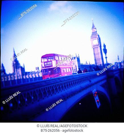 Westminster bridge. London. England