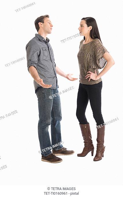 Couple having argument