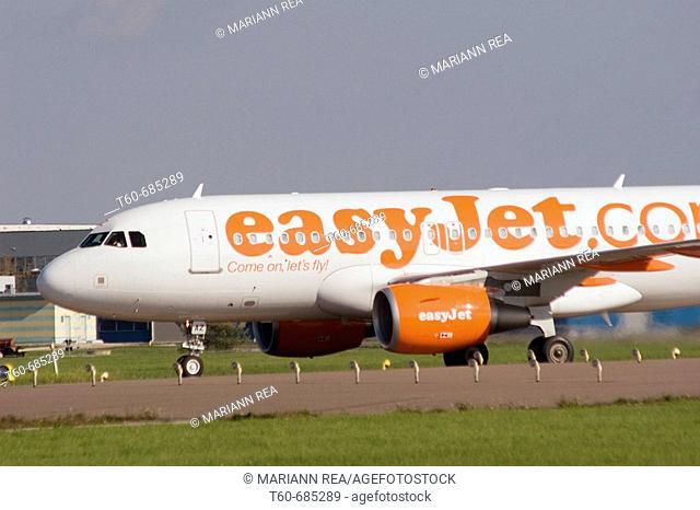 Easyjet flight after landing