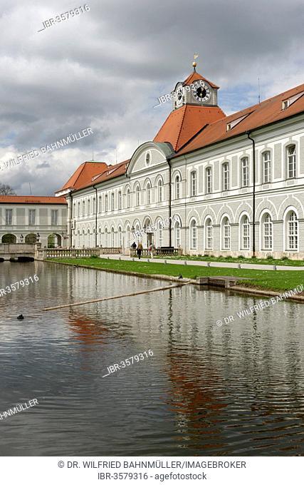 Schloss Nymphenburg Palace, Neuhausen-Nymphenburg, Munich, Upper Bavaria, Bavaria, Germany