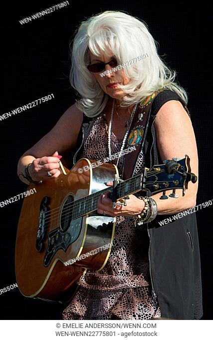 Way Out West Festival 2015 - Day 2 - Performances Featuring: Emmylou Harris Where: Gothenburg, Sweden When: 14 Aug 2015 Credit: Emelie Andersson/WENN