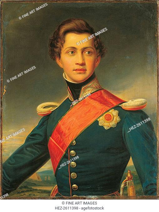 Portrait of Otto, King of Greece, 1832. Artist: Stieler, Joseph Karl (1781-1858)