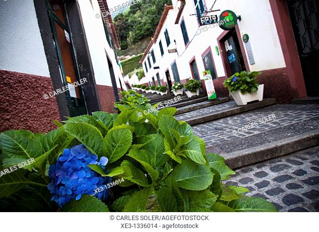 Old street of Sao Vicente, Madeira