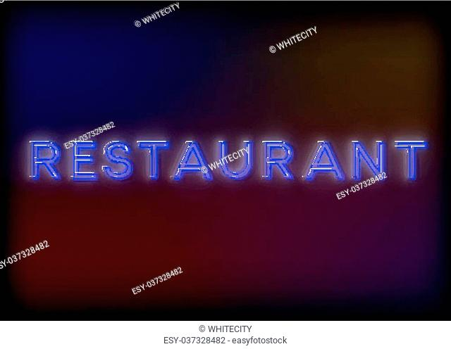 Retro neon sign coffee Stock Photos and Images | age fotostock