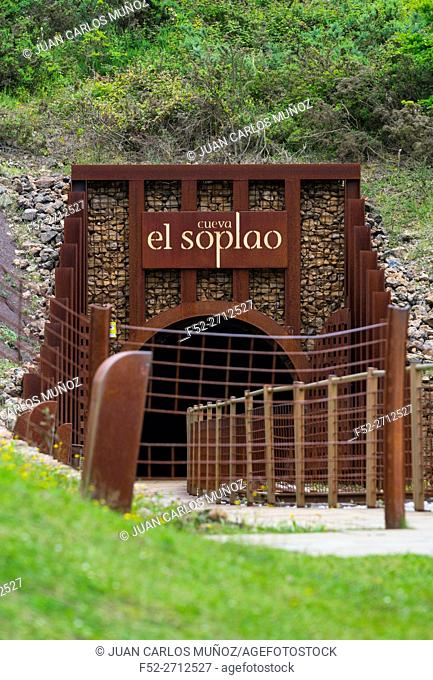 El Soplao is a cave located in the municipalities of Rionansa, Valdáliga and Herrerías, Cantabria, Spain, Europe