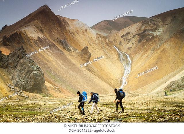 Landmannalaugar region. Highlands. Iceland, Europe