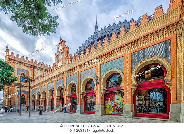 Former Estacion de Cordoba (Cordoba Railroad Station), nowadays a shopping centre, Seville, Spain