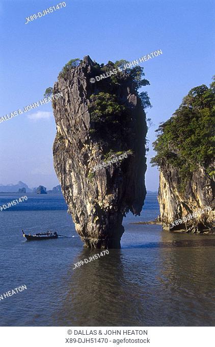 Thailand, Phuket, Phangnga National Park, James Bond Island
