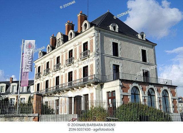 Maison de la Magie Robert-Houdin, magic museum, Blois, Departement Loir-et-Cher, Centre, France, Europe, Maison de la Magie Robert-Houdin, Museum der Zauberei
