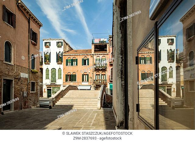 Spring afternoon in the sestier of Cannareggio, Venice, Italy