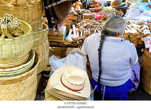 Market, Patzcuaro, Michoacan State, Mexico