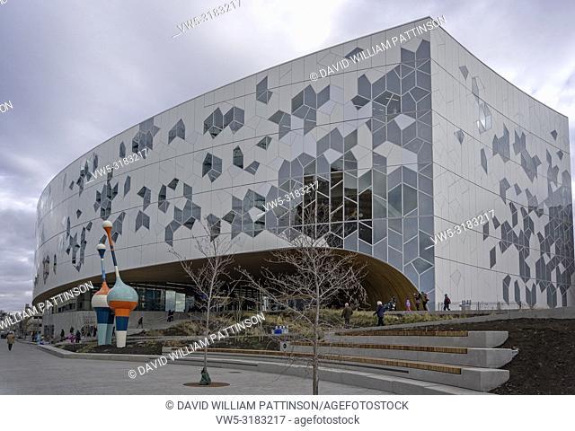 New Central Library Calgary Alberta Canada