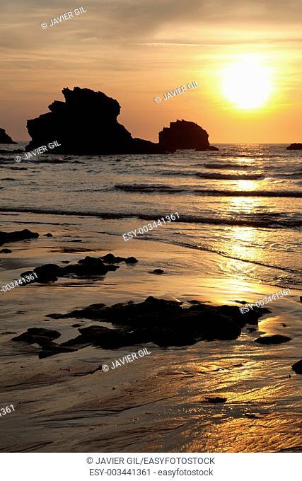 Beach of Biarritz, Pirenees Atlantiques, Aquitaine, France