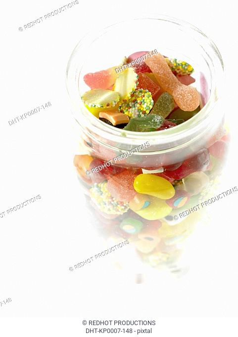 Food - Assorted Sweets in Jar