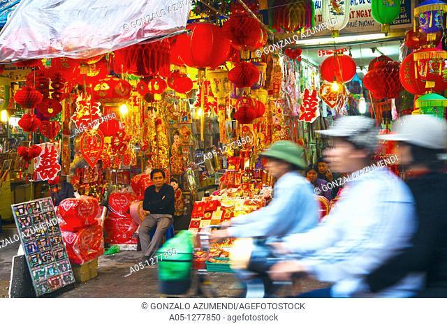 Hang Ma Street  Old City. Hanoi. Vietnam