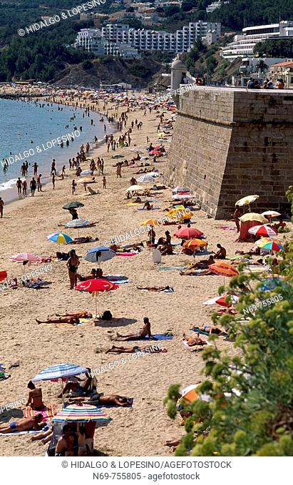 Beach, Atlántic Ocean, Alentejo, Sesimbra, Portugal, Europe