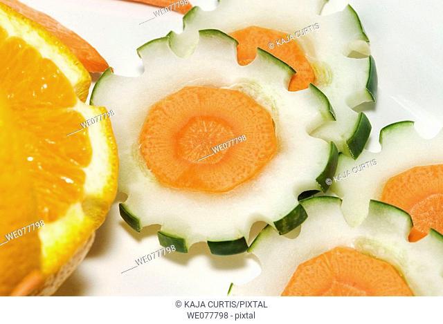 Decorative food
