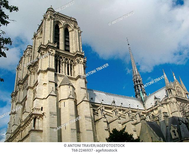 Cathedral of Notre Dame, Paris, France