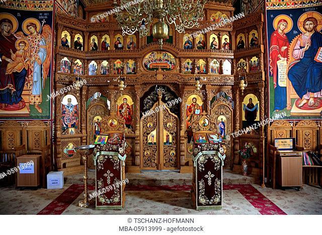 Convent Saon, Manastirea Saon, with Tulcea, Dobrudscha, Romania