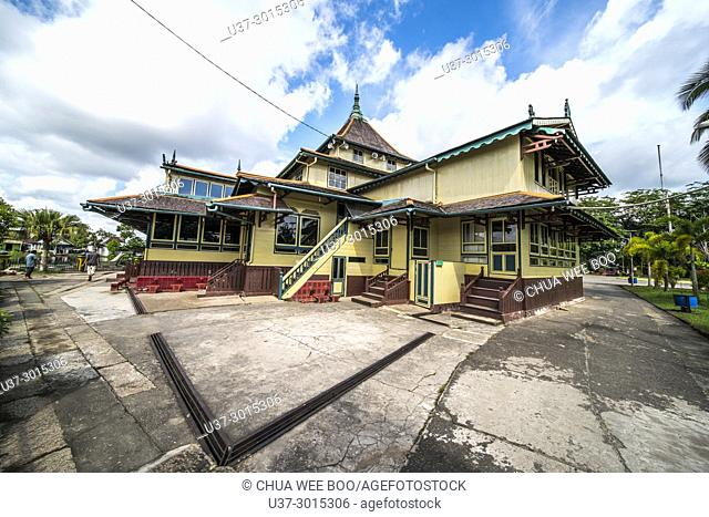 Masjid Agung Jami' Sultan Muhammad Tsafiuddin, Sambas, West Kalimantan, Indonesia