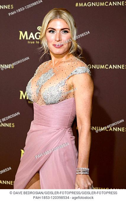 Hofit Golan attending the 'Magnum x Rita Ora' Party during the 72nd Cannes Film Festival on May 16, 2019 in Cannes, France | usage worldwide