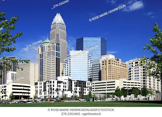 Charlotte, North Carolina, skyline