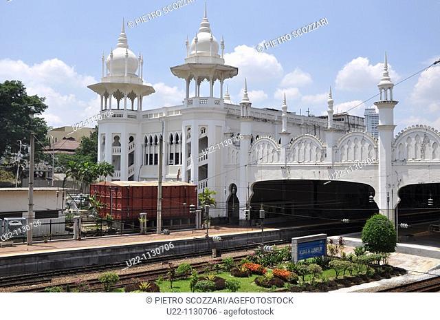 Kuala Lumpur (Malaysia): the Malayan Railway Station's building