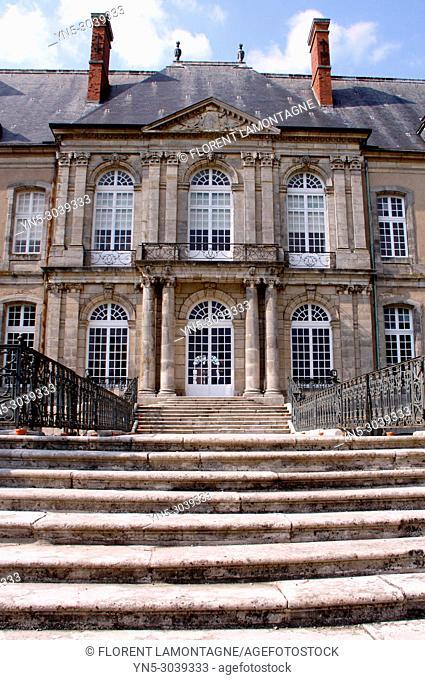 Haroué's Castle, Château d'Haroué, Beauvau-Craon's family, department of Meurthe-et-Moselle, region Lorraine and Grand-Est, France