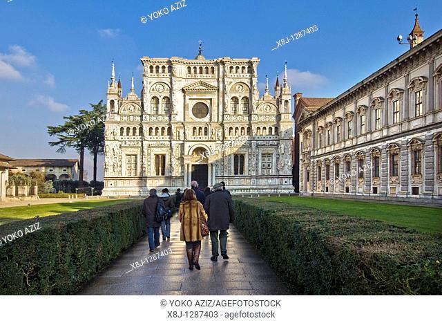 Certosa di Pavia, Pavia province, Italy