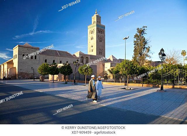 Morocco Marrakesh Koutoubia Mosque