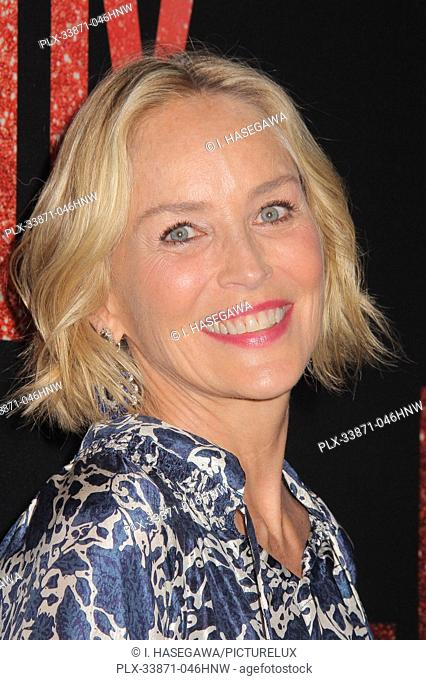 """Sharon Stone 09/19/2019 The Los Angeles Premiere of """"""""JUDY"""""""" held at the Samuel Goldwyn Theater in Beverly Hills, CA. Photo by I"""