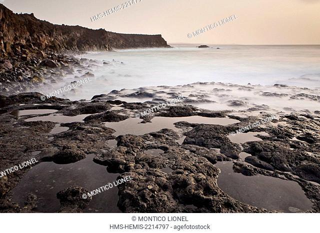 Spain, Canaries Islands, Lanzarote island, lava coves of Los Hervideros