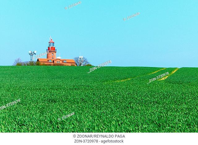 Bastorf Lighthouse - Lighthouse BUK - Bastorf in the district of Rostock in Mecklenburg-Vorpommern, Germany