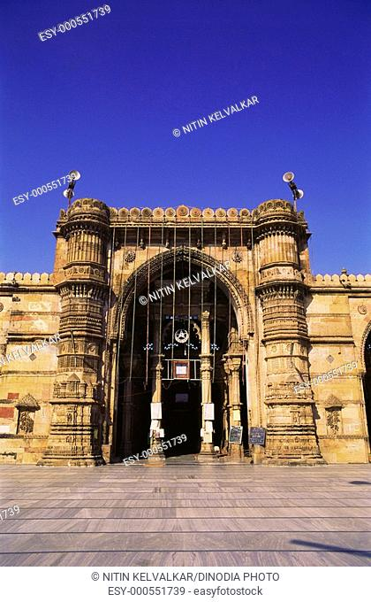 Jami masjid , Ahmedabad , Gujarat , India
