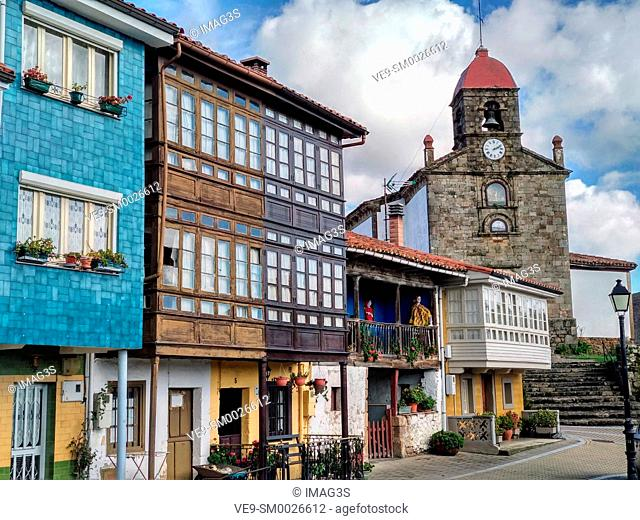 Torazo village, Cabranes municipality, Comarca de la Sidra, Asturias, Spain