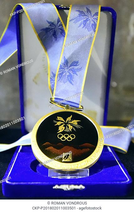 """The exhibition named """"""""Let's change the history...! Nagano 1998-2018"""""""", commemorating the success of Czech athletes on 18th Olympic Winter Games in Nagano"""